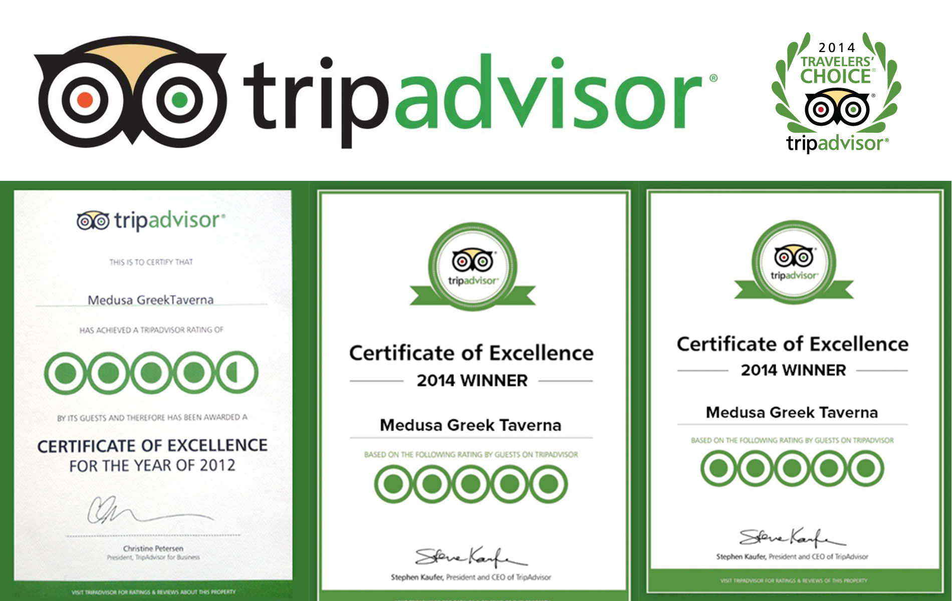 medusa tripadvisor - In The Press